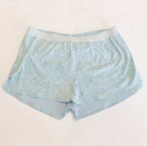 NWOT Outdoor Voices The Run Shorts Light Blue